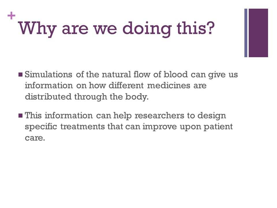 Analyses and Simulation of Medicine Carrying Blood Flow in MATLAB