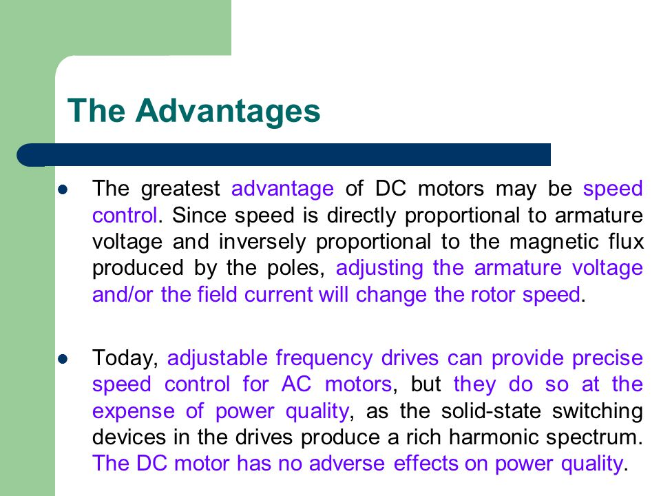 Dc Motor 2 Bee2123 Electrical Machines Ppt Video Online Download. 4 The Advantages. Wiring. Spectrum Dc Drive Wiring Diagram At Scoala.co