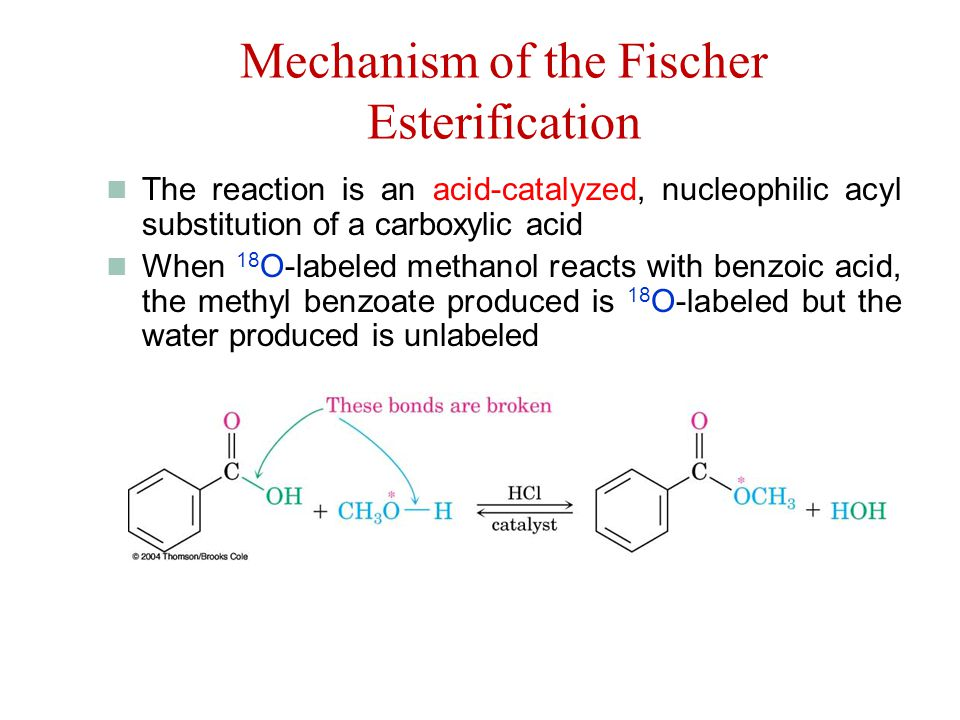 preparing esters by esterification method using Esters are the extracted from carboxylic acids carboxylic acid contains cooh group the hydrogen in the cooh group is ester is being substituted by a esterification process yields more fuel than regular transesterification biodiesel production in cases of high oil titrates using the base method will.