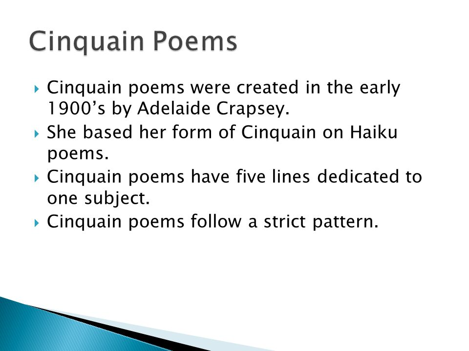 Haiku Tanka Cinquain And Diamante Ppt Video Online Download New What's The Pattern Of A Haiku