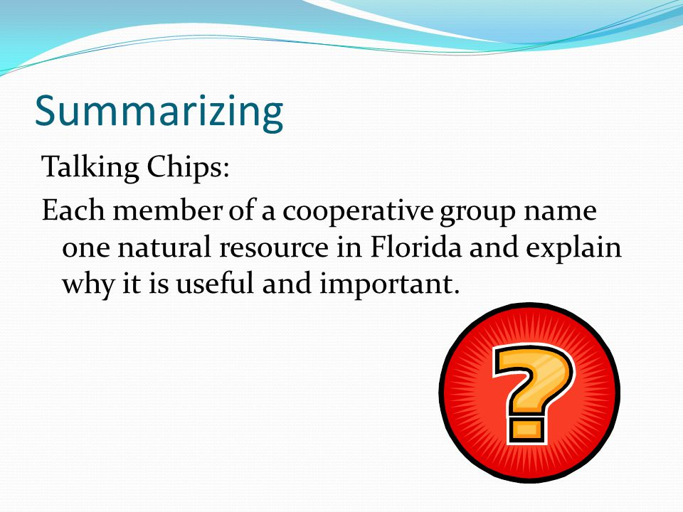 Summarizing Talking Chips: