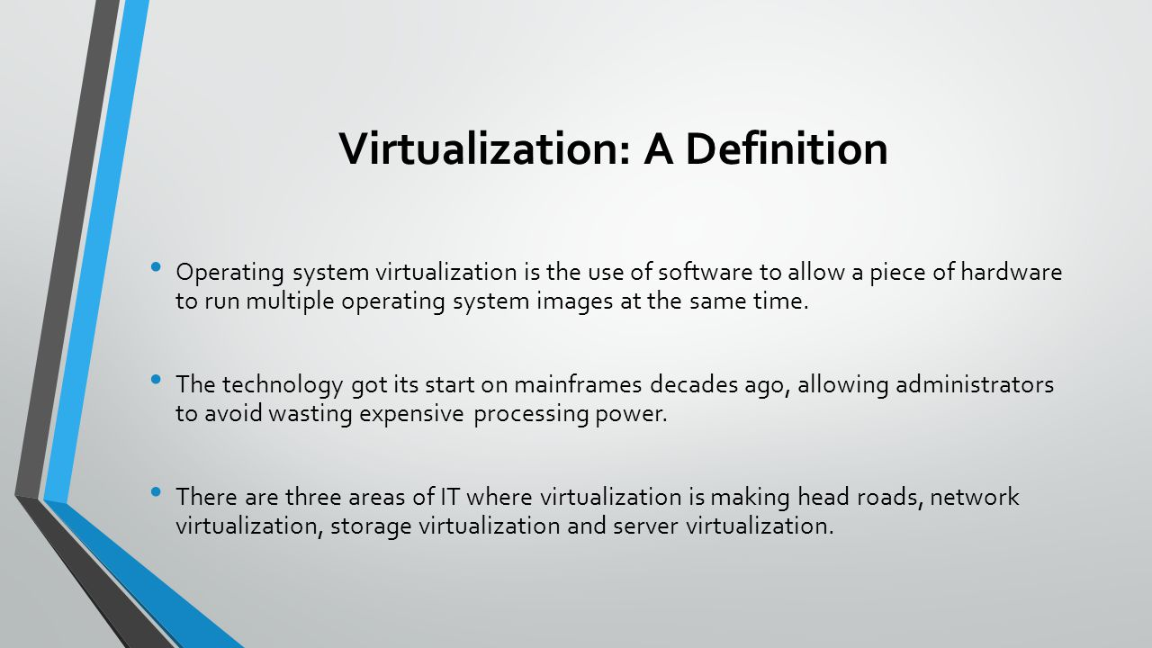 virtualization technologies - ppt download