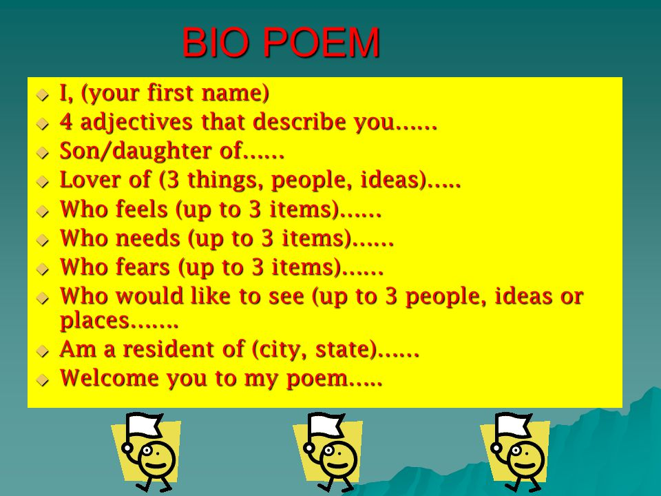 FORMS OF POETRY Expressing one's thoughts in written form
