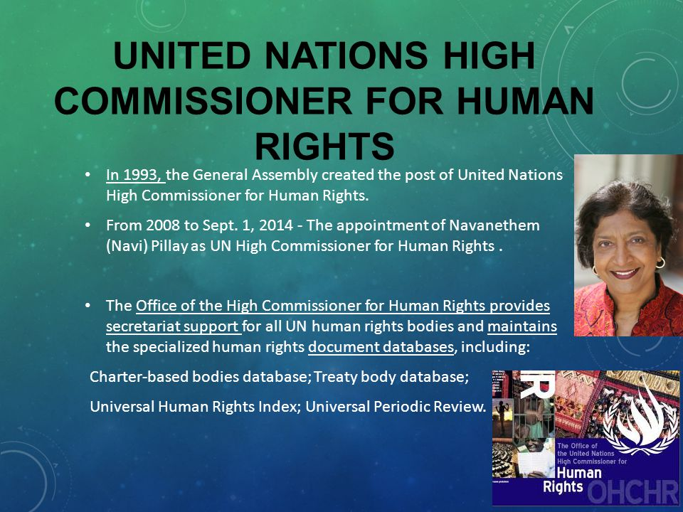International protection of human rights part i ppt - Office for the high commissioner for human rights ...