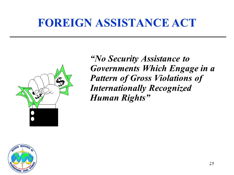 FOREIGN ASSISTANCE ACT