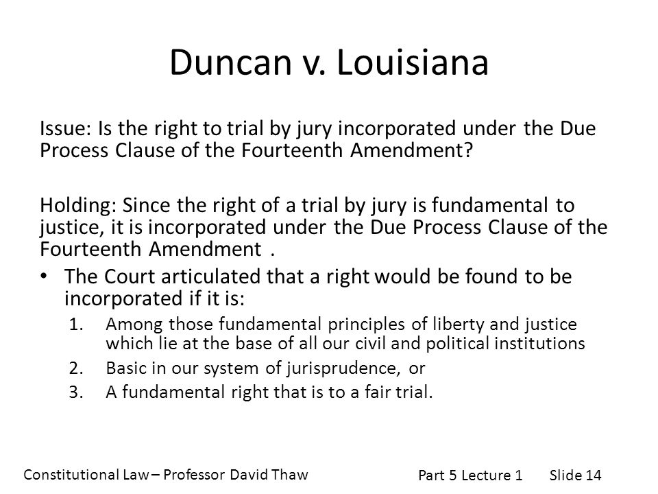 due process revolution The due process revolution was a direct response by the us supreme court under the leadership of chief justice earl warren to a growing history of state supreme court decisions that were.