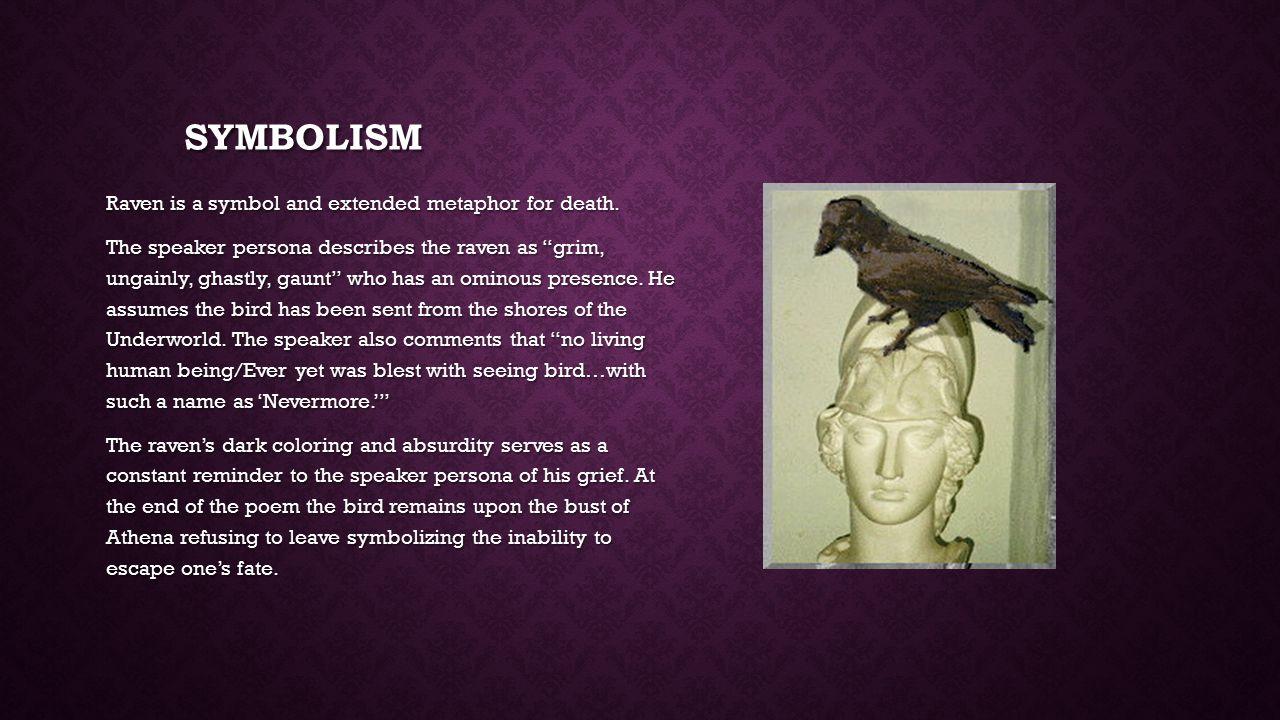 interpretation of the raven by edgar allan poe