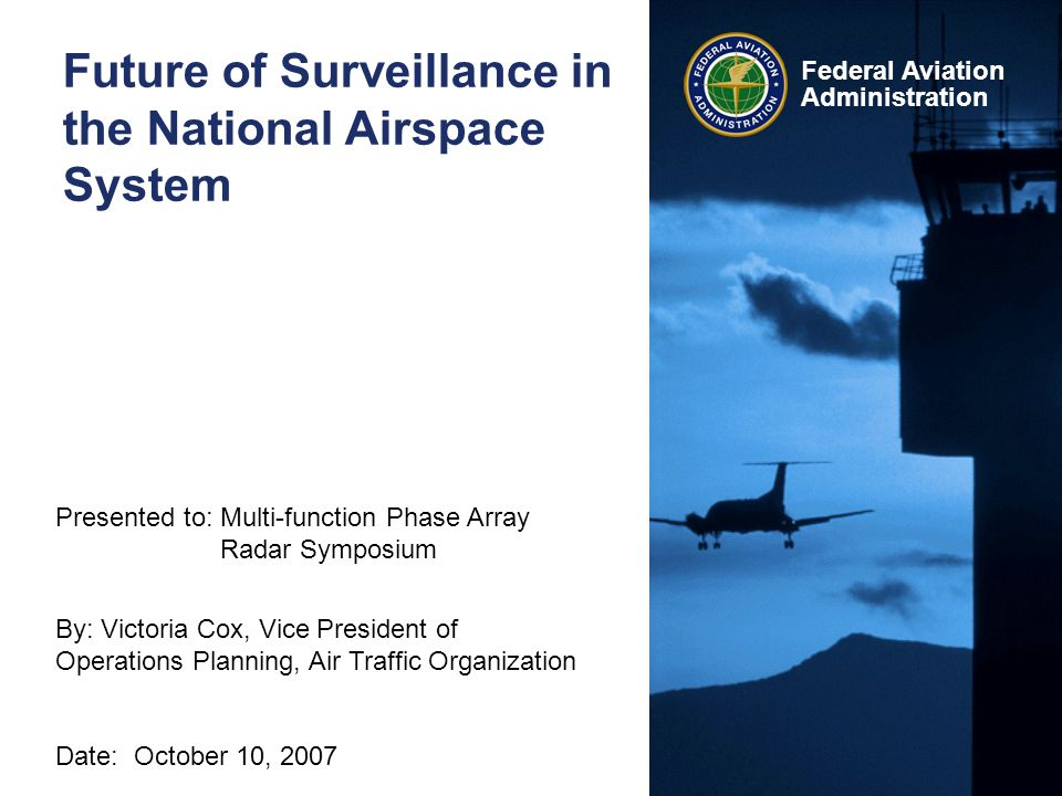Future of Surveillance in the National Airspace System