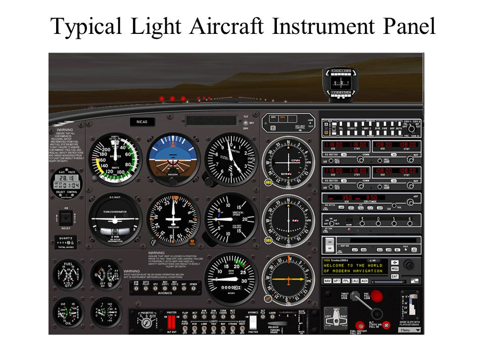 Navigation, Instruments, and Getting a Pilot's License - ppt download