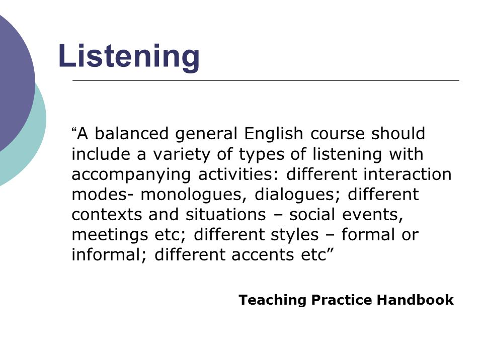 Upgrading Listening and Speaking Skills - ppt video online