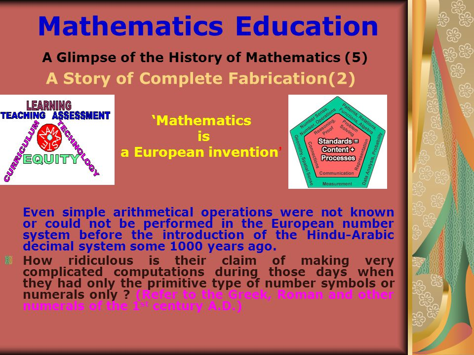 A Glimpse Of The History Of Mathematics 1 Ppt Video Online Download