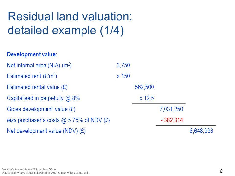 net development value