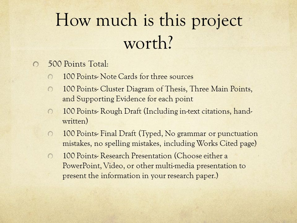 How much is this project worth