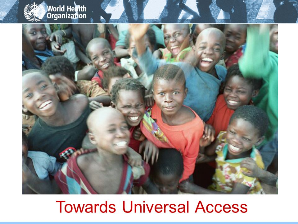 Towards Universal Access