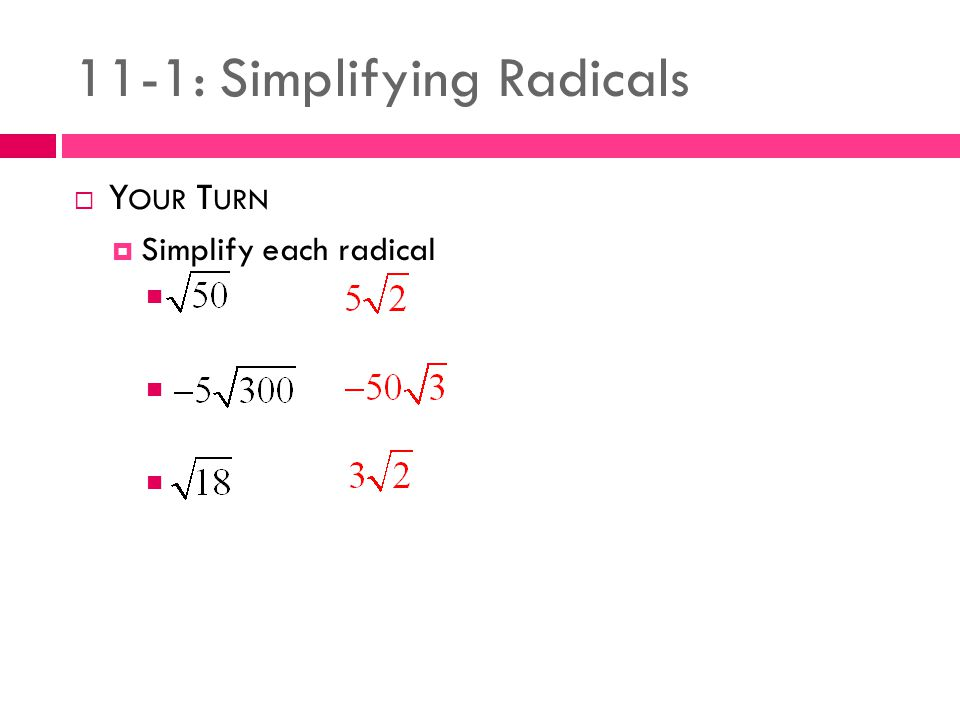 111 Simplifying Radicals Ppt Video Online Download. 111 Simplifying Radicals. Worksheet. 11 1 Rational Exponents Worksheet Answers At Clickcart.co