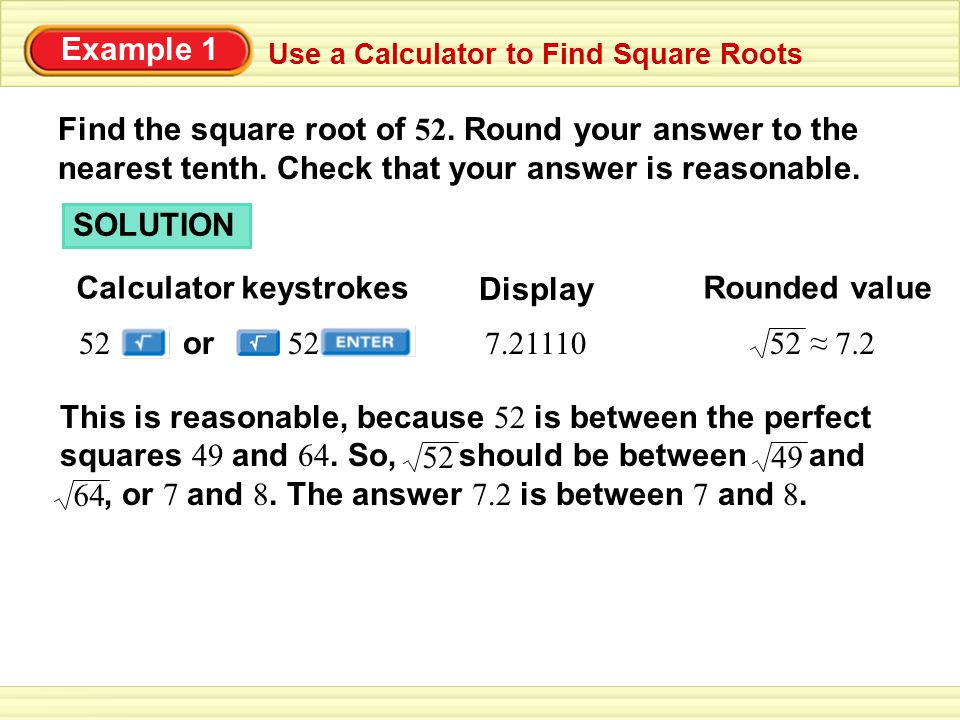 Calculator keystrokes