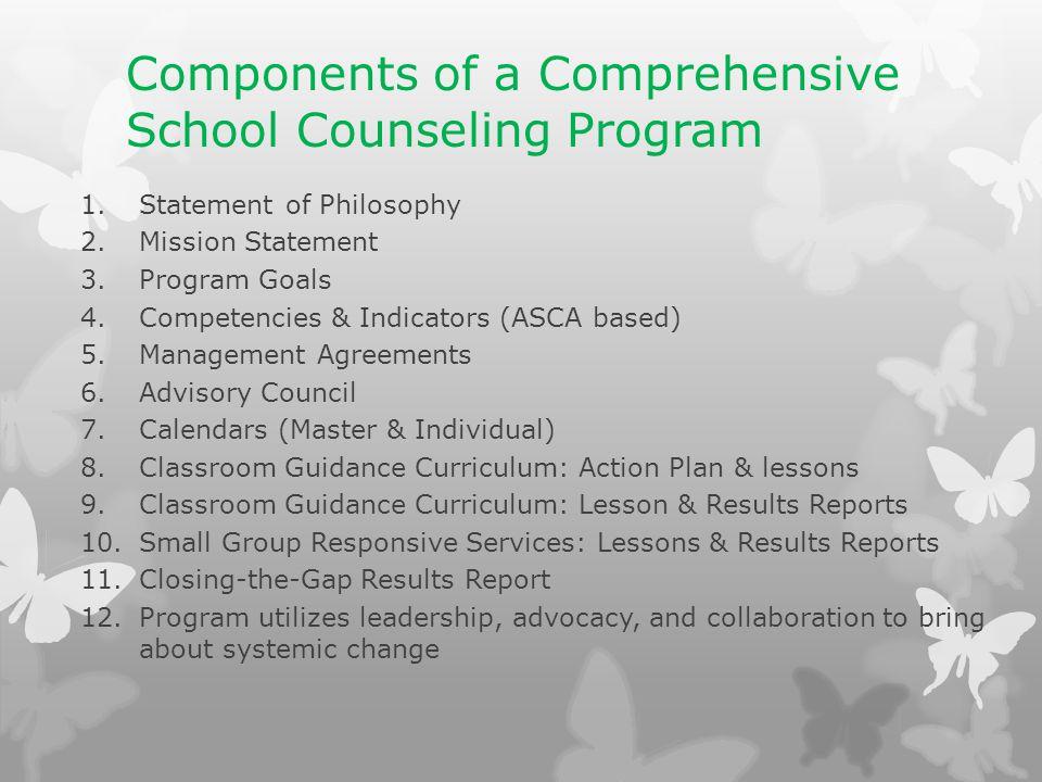 Comprehensive School Counseling Program Advisory Council Ppt Video