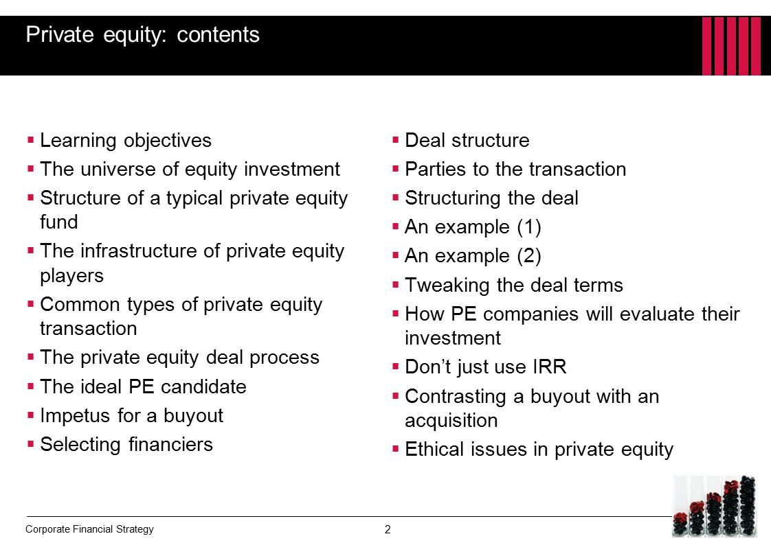 Chapter 18 Private equity - ppt download