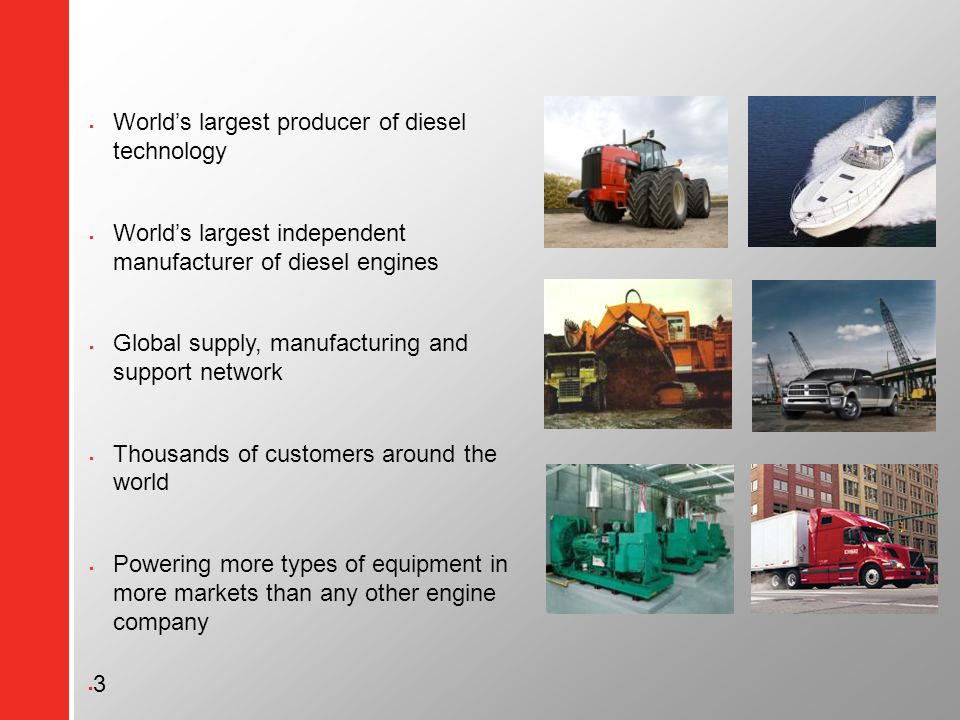 Cummins Global Logistics Belgium - ppt video online download