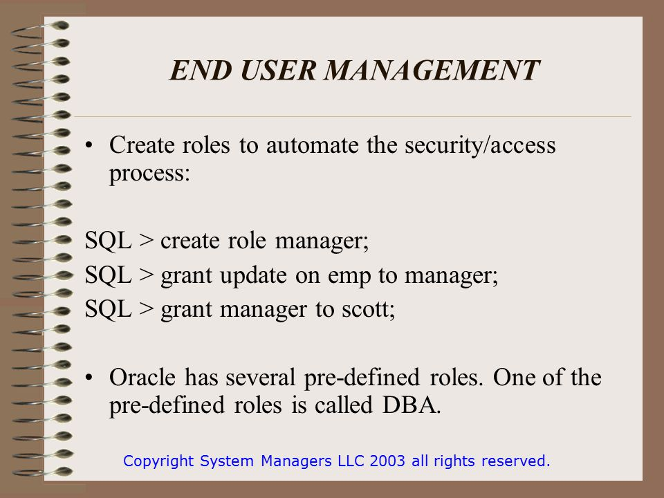 INTRODUCTION TO ORACLE - ppt video online download
