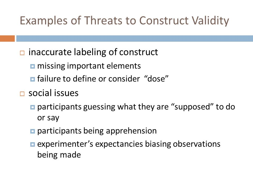 Construct Validity And Measurement Ppt Video Online Download