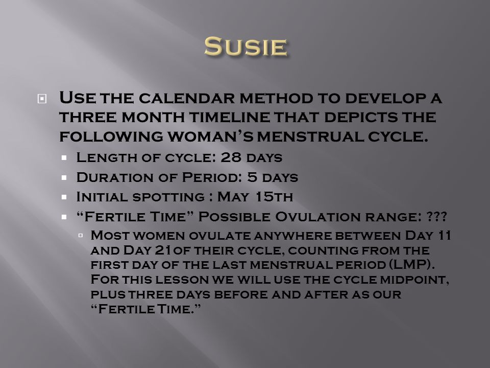 Predicting Ovulation & Fertility Periods - ppt download