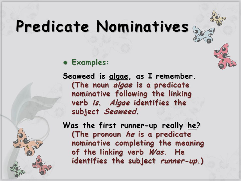 Predicate Nominative Adjectives Lessons Tes Teach Plements Direct And Indirect Objects Subject: Predicate Nominative Worksheet At Alzheimers-prions.com