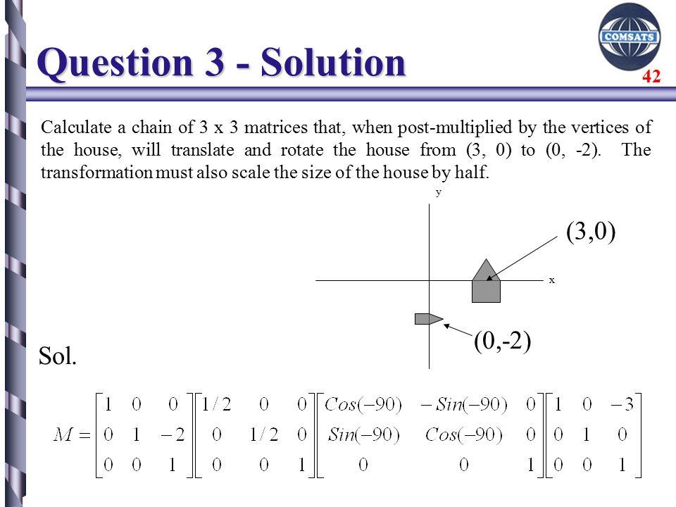 Geometric Transformation-2D - ppt download