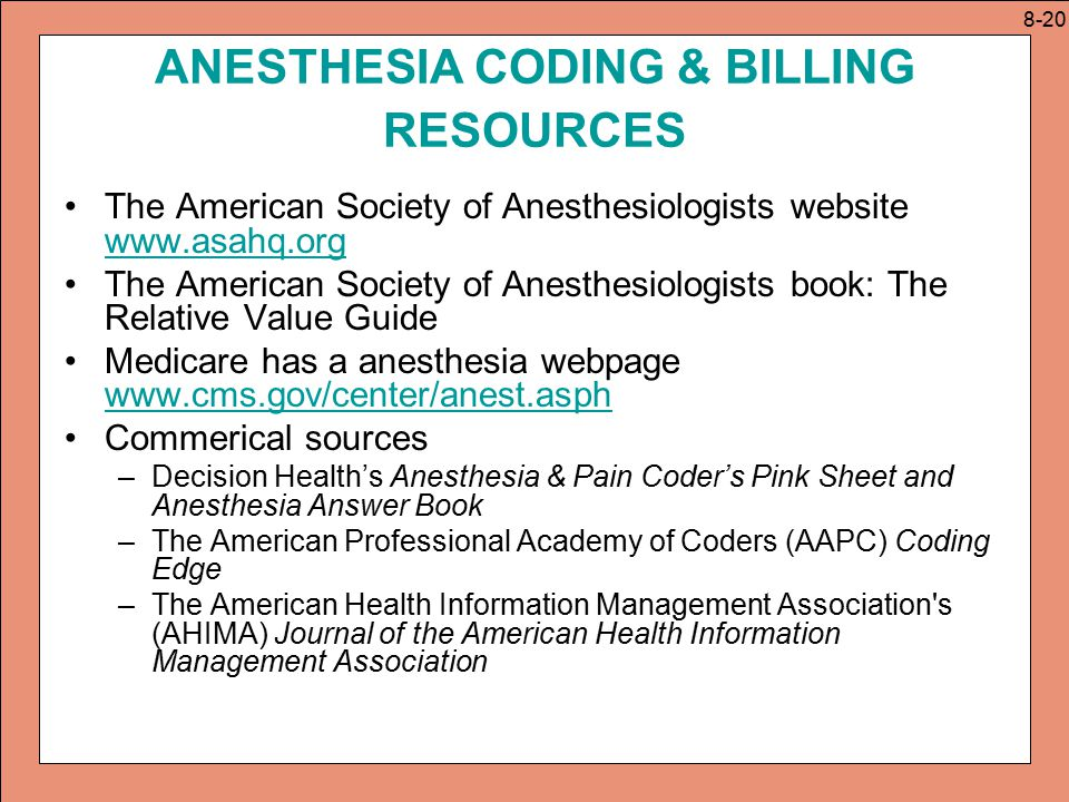CPT: Anesthesia and Surgery Codes - ppt video online download