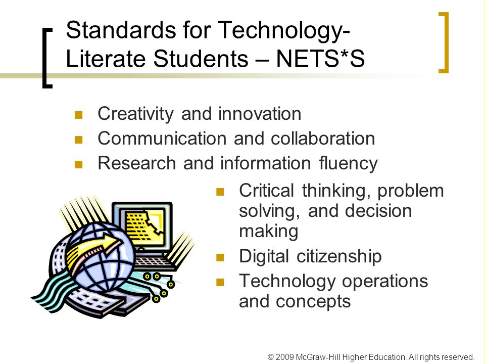 Standards for Technology-Literate Students – NETS*S
