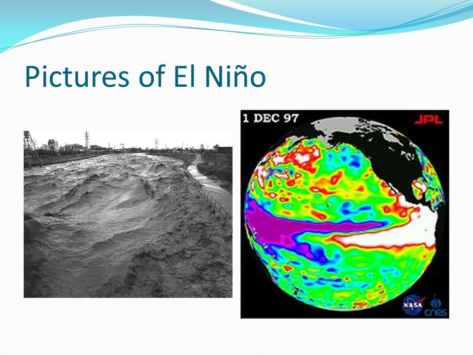 Pictures of El Niño