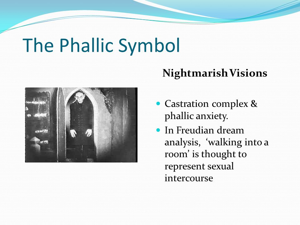 Phallic symbol psychoanalysis and sexuality