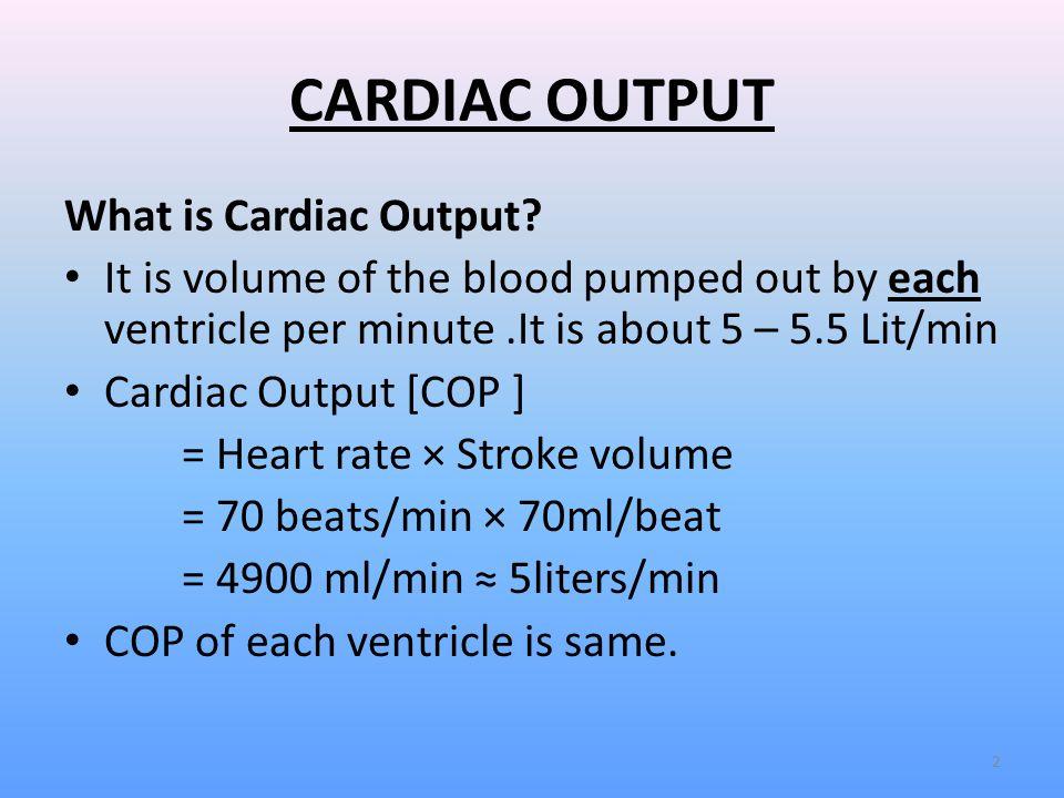 Cvs-9 cardiac output |authorstream.
