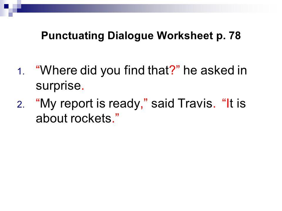Dialogue Notes Dialogue Ppt Download