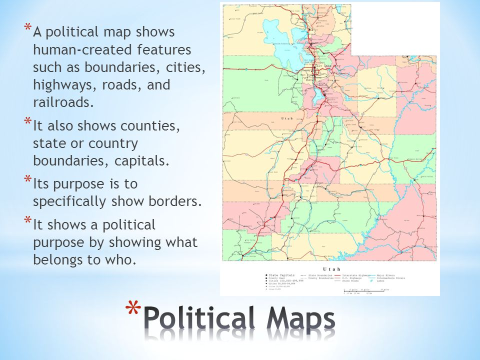 Different Types Of Maps And How To Read Them Ppt Video Online