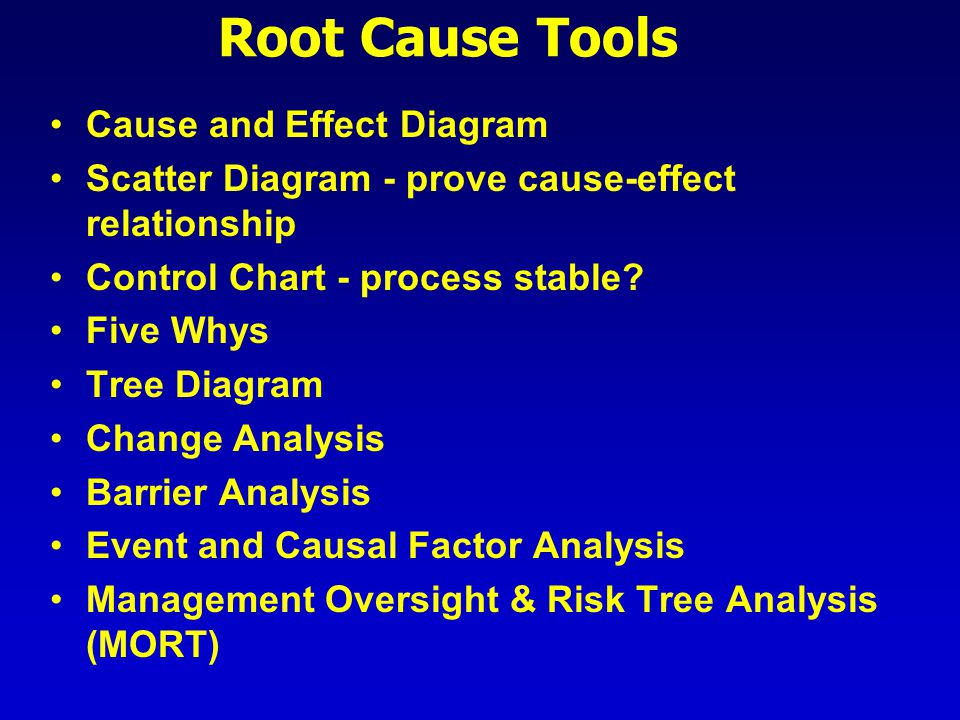 root cause analysis  why  why  why