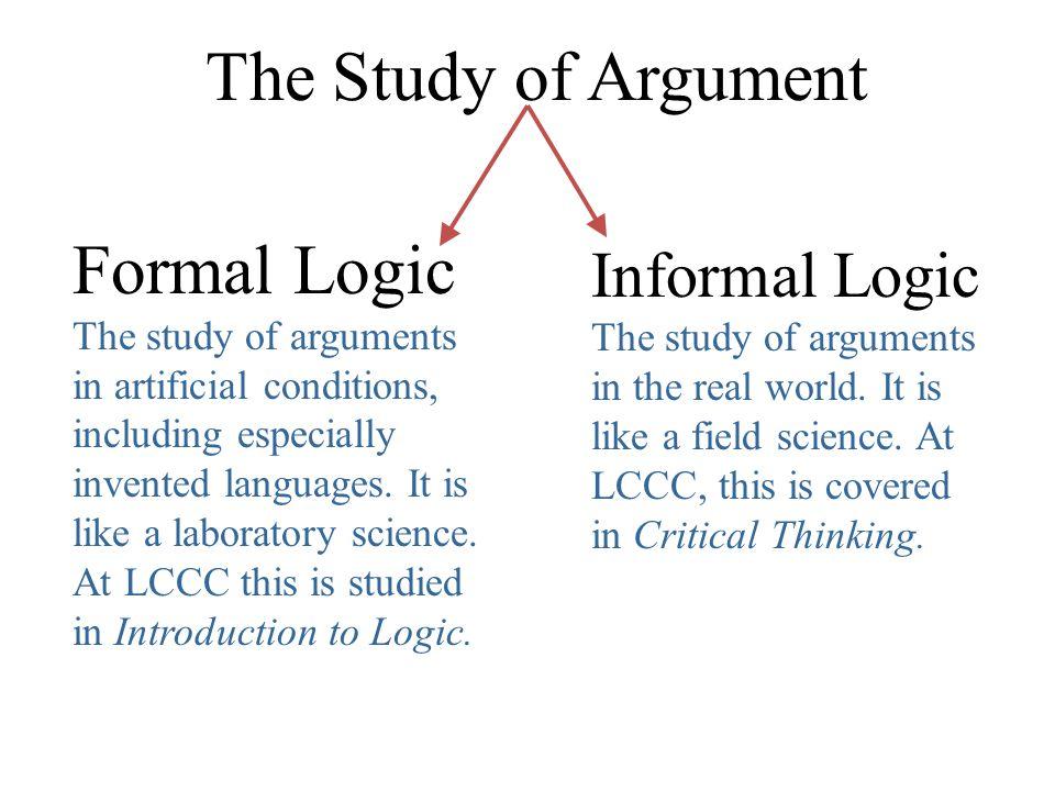 Logic presentation(informal fallacies).