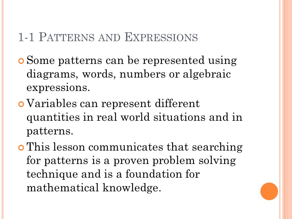 ALGEBRA 2 Chapter 1: Essential Questions - ppt video online download