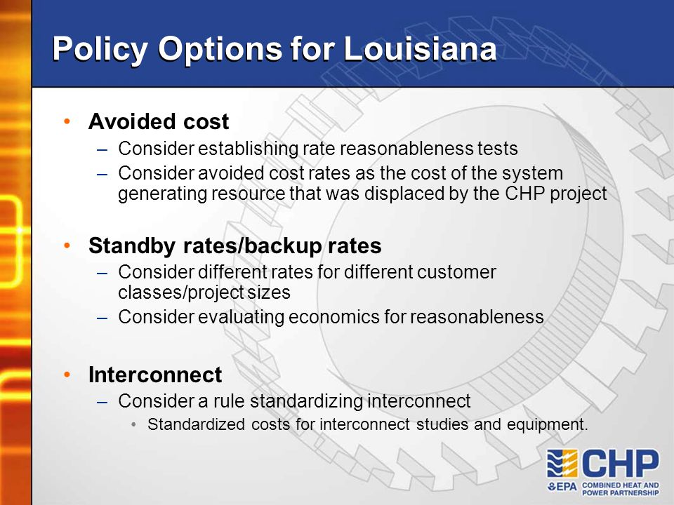 Policy Options for Louisiana