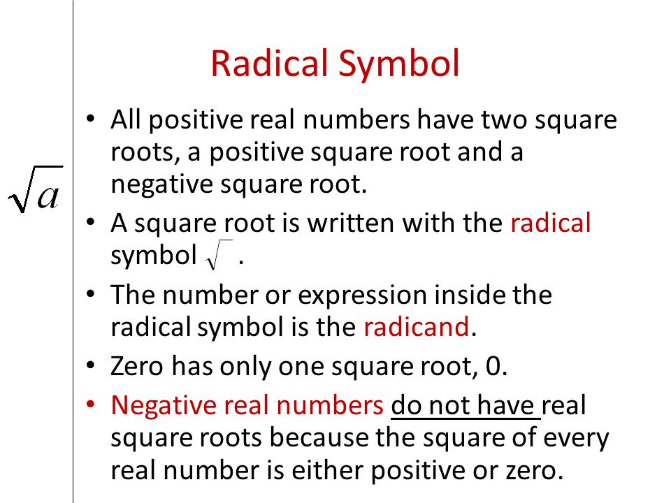 21 Find Square Roots And Compare Real Numbers Ppt Download