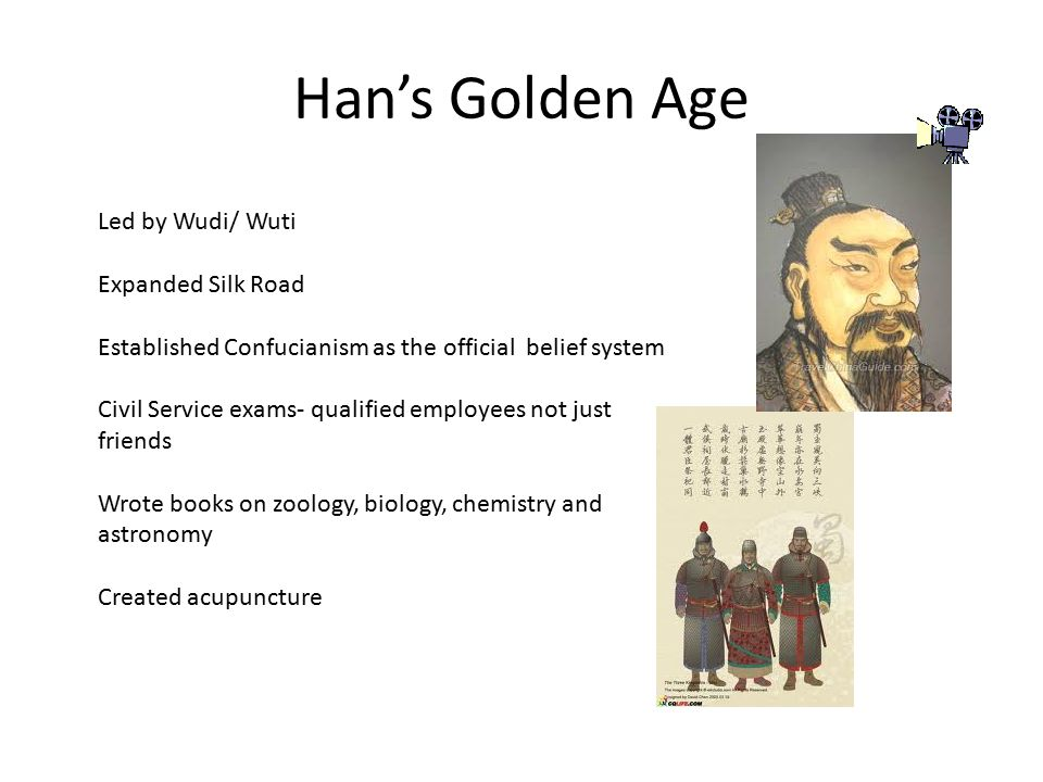 Han's Golden Age Led by Wudi/ Wuti Expanded Silk Road