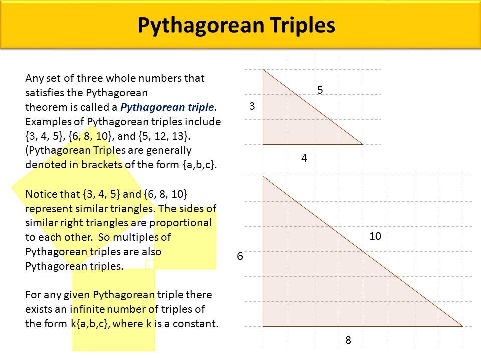Grade9: lesson 5-7: the pythagorean theorem « mr. Elhajj's blog.