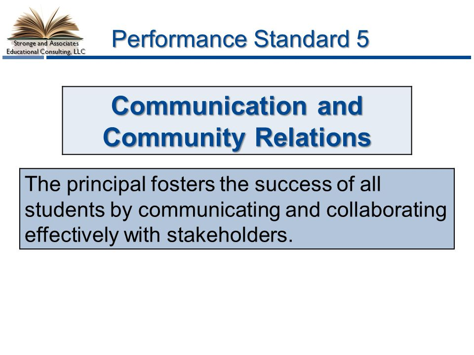 Communication and Community Relations