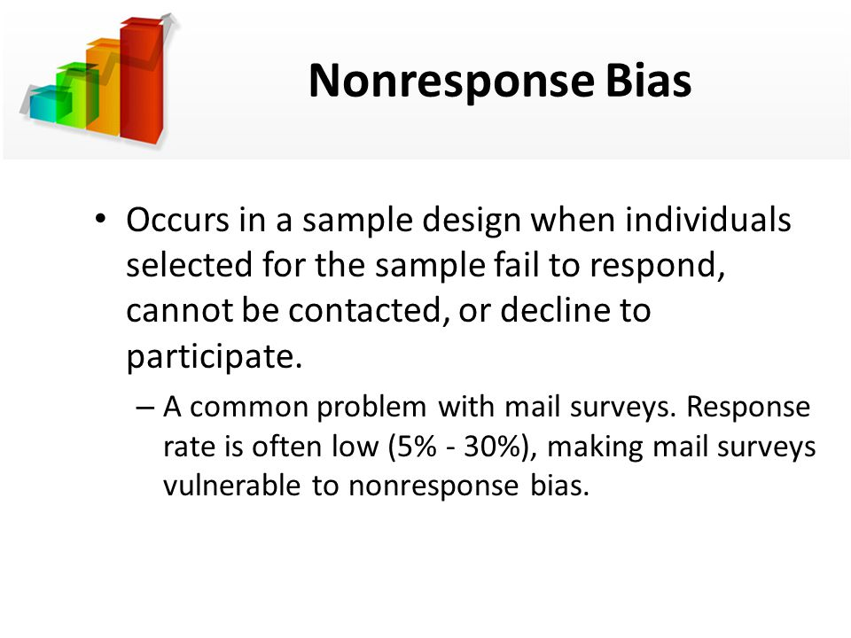 Image result for Sampling and Non-Response Bias