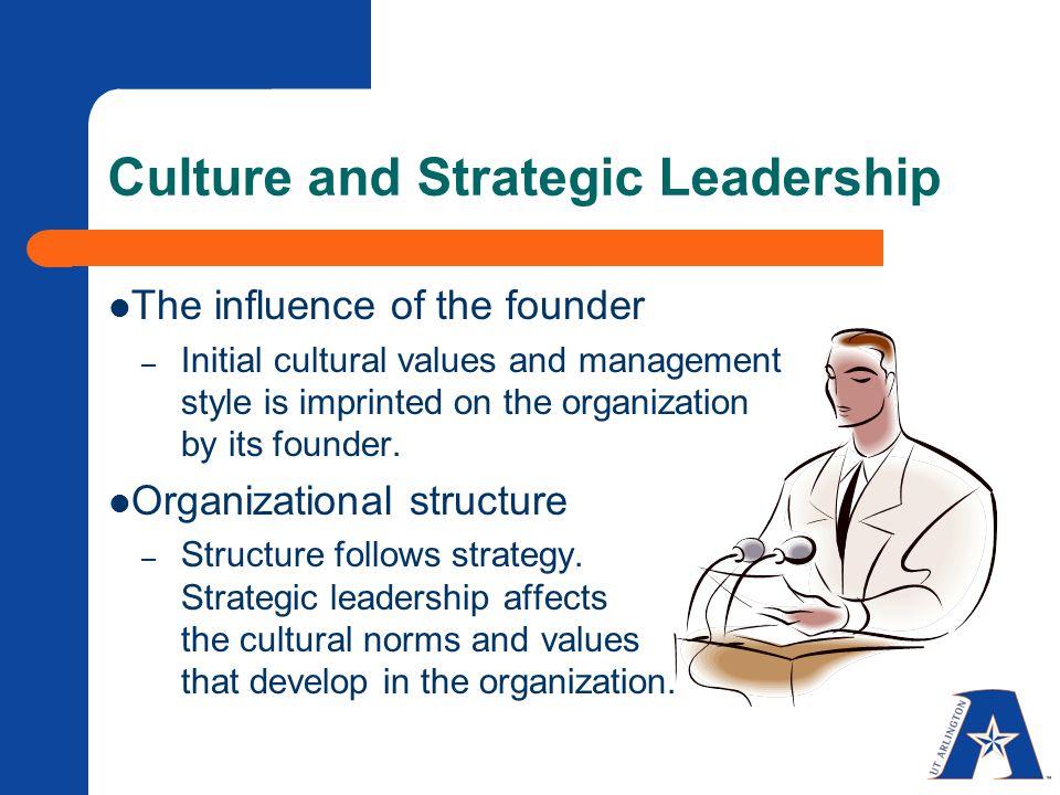 strategic leadership and management pdf