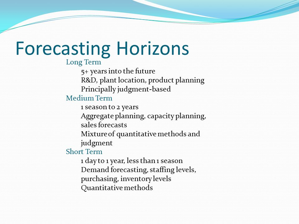 DEMAND FORECASTING  - ppt download