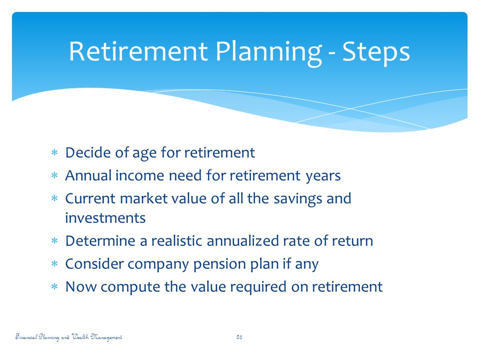 financial planning wealth management ppt download