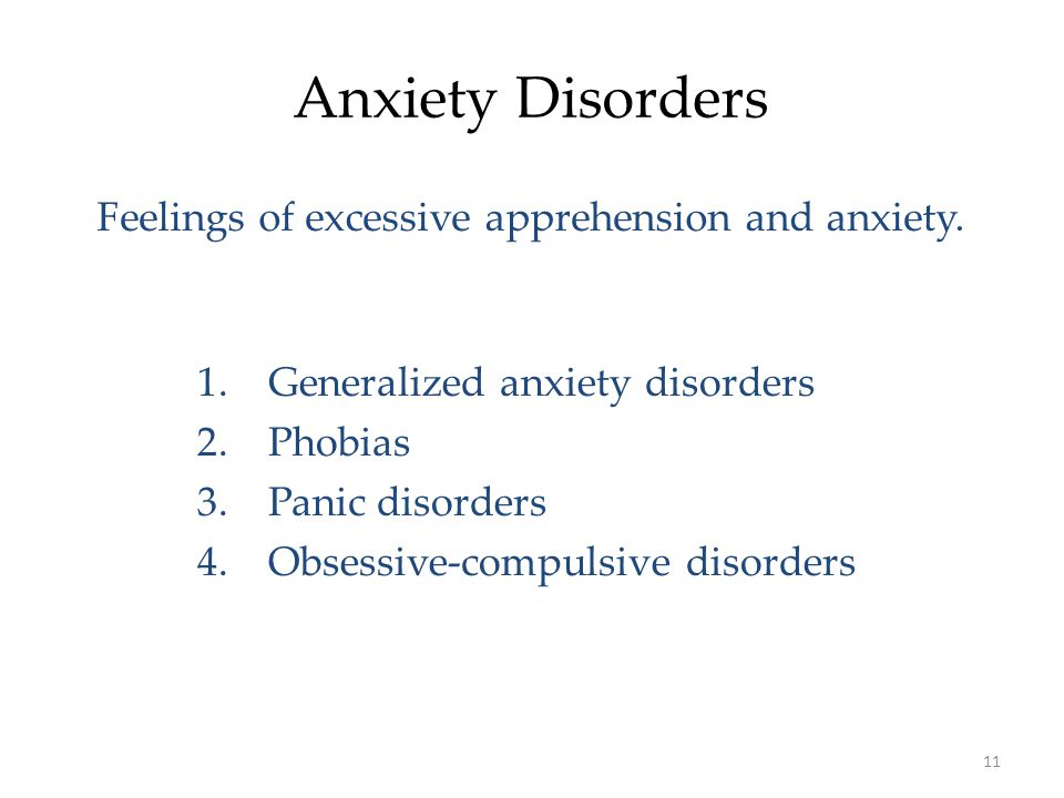 Unit 7: Abnormal Psychology Day 2: Anxiety Disorders - ppt