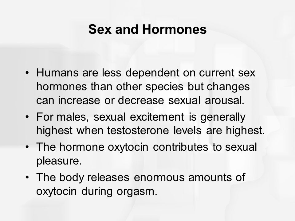 Opinion you hormones released in female orgasm