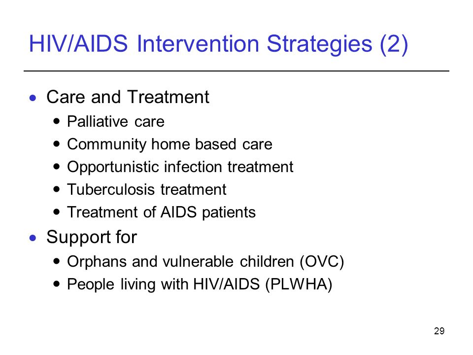 HIV/AIDS Intervention Strategies (2)
